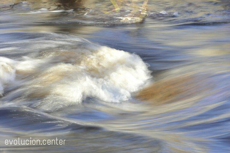El cuerpo se desliza como el agua