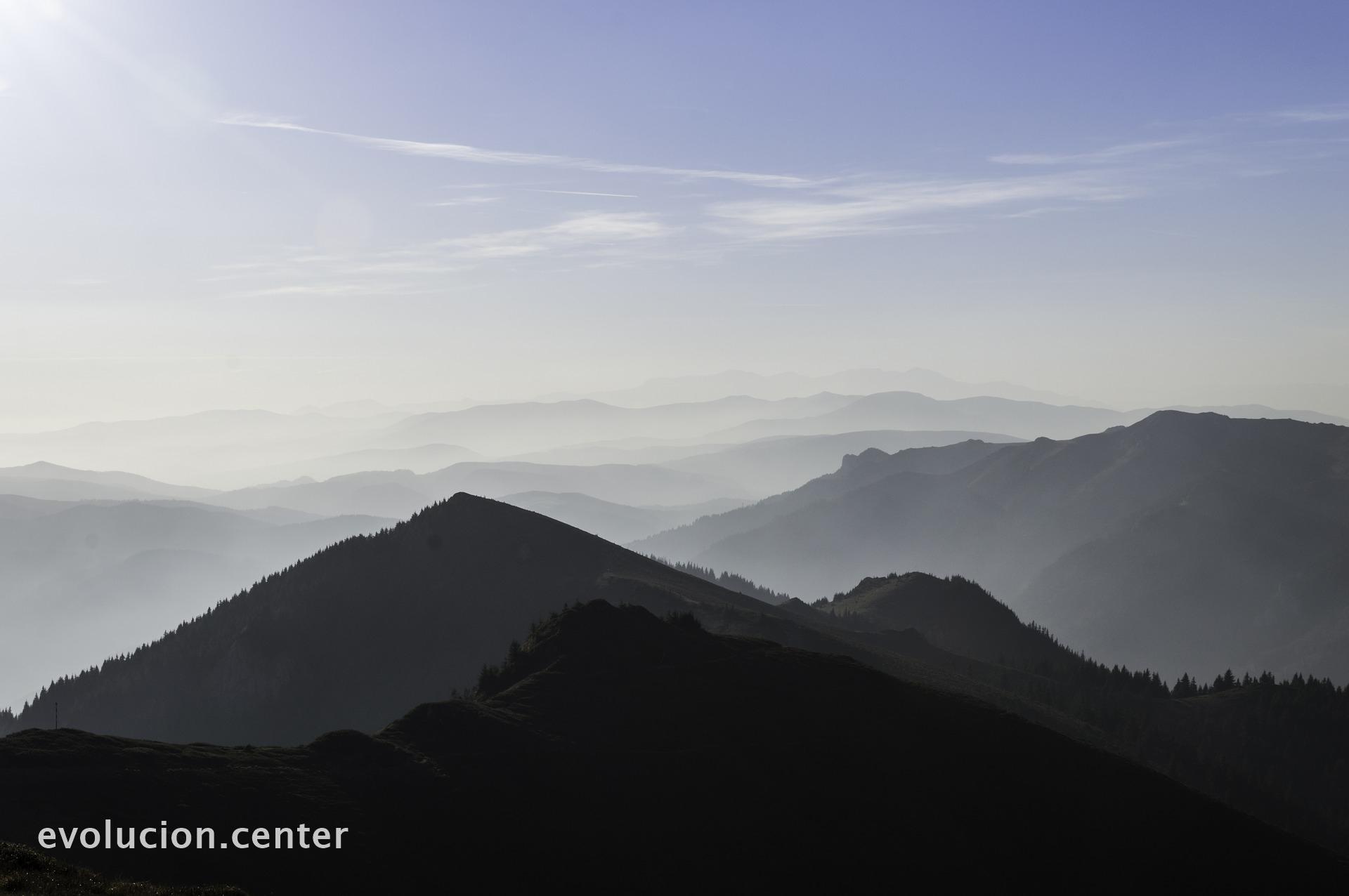 Sólo en la montaña